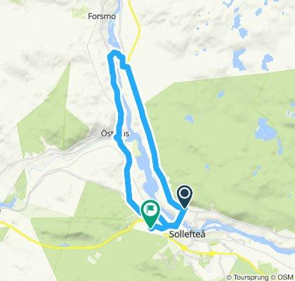 Slow Evening Ride In Sollefteå