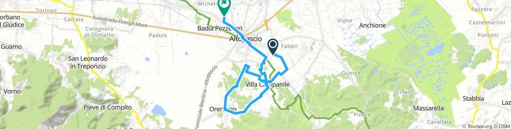 Snail-Like Lunedì Ride In Altopascio