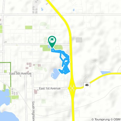 Cycling Routes And Bike Maps In And Around Mt Dora Bikemap Your