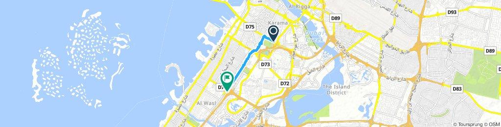 Easy Tuesday Ride In Dubai