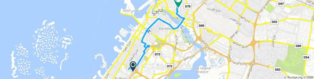 Lengthy Tuesday Ride In Dubai