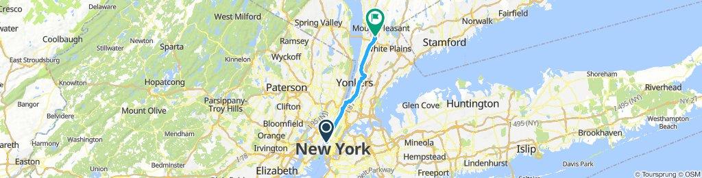 NYC to Captain Morgan
