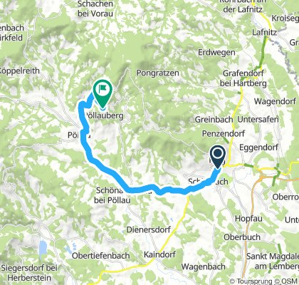 Straßenrennen Pöllauberg - Samstag, 11. August 2018