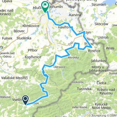 Czech Fixed Tour Etapa 12 Hovězí - Landek Park