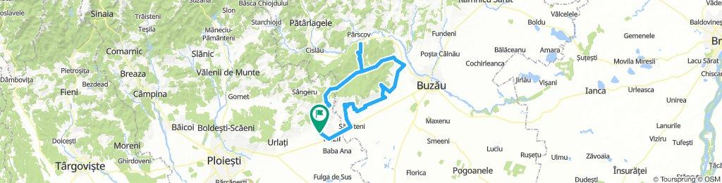 Mizil 100 km 1,500m alt