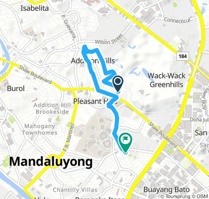 Short Evening Track In Mandaluyong City