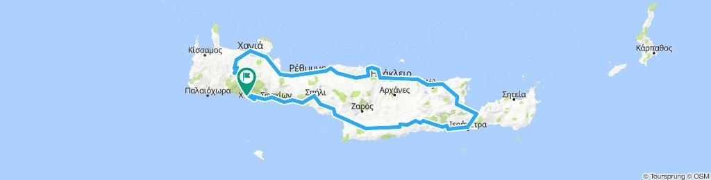 Bocho por Creta 2018