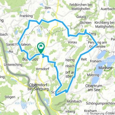 55 km Hausrunde rund um Lamprechtshausen