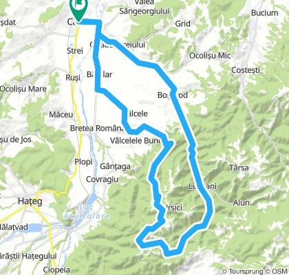 Drumul Vanatorului , Ursici, Valcele