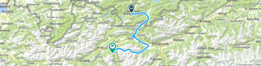 1. Tag Bike4Passion Garmisch-Gardasee Level 4
