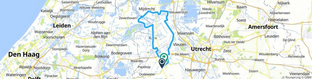 Ronde Montfoort-Mijdrecht 55km