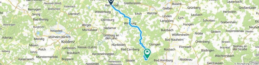 Lindlar-Feldberg (Taunus, 2. Etappe)