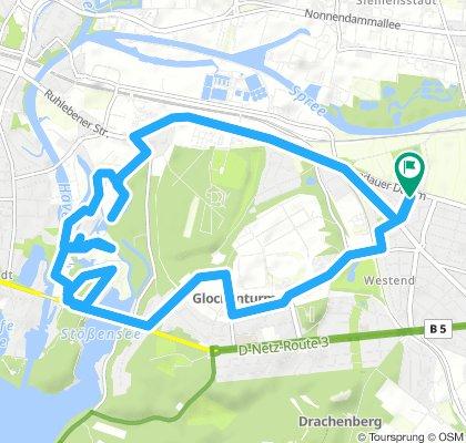 Tiefenwerder Route