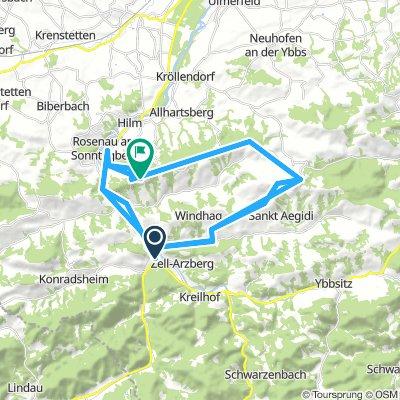 7.Etappe Waidhofen a. d. Ybbs - Sonntagberg