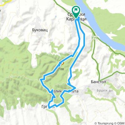 Sremski Karlovci-Grgeteg-Velika Remeta