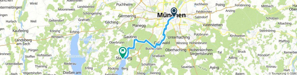 Munich to Starnberger See