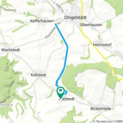 Long Mittwoch Route In Büttstedt
