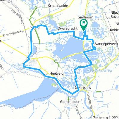 Giethoorn Karte.Nl Giethoorn 44km Bikemap Deine Radrouten