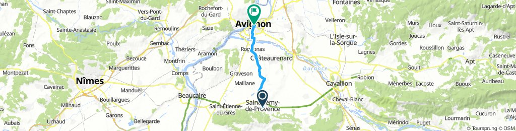 avignon to st remy
