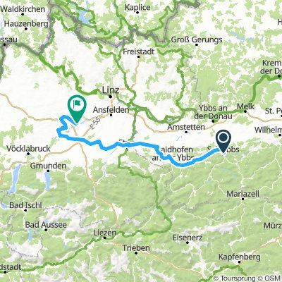 8.Etappe Scheibbs - Wels