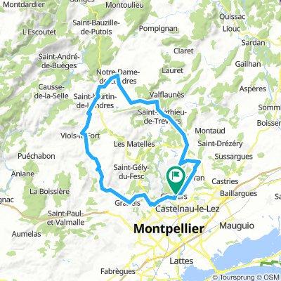 73 km par le col de Fambétou