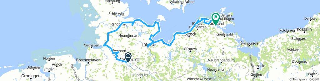 2018-06: Hamburg - NOK - Oseeküste - Stralsund