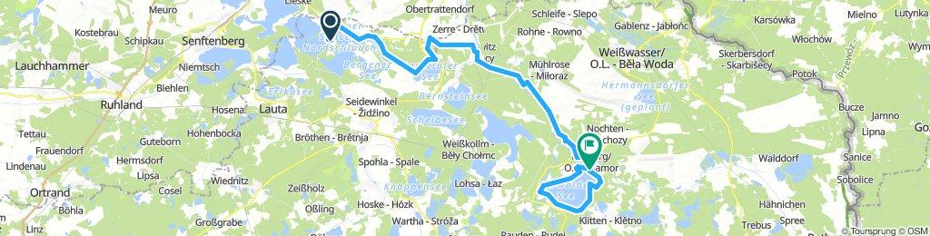 Okolo Lužických jezer 5. den