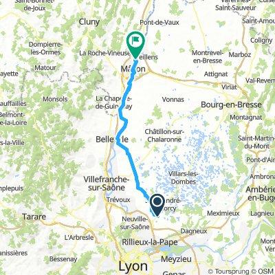 Lyon - Paris (jour 1)