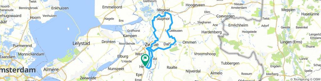 Rondje Staphorst 120km