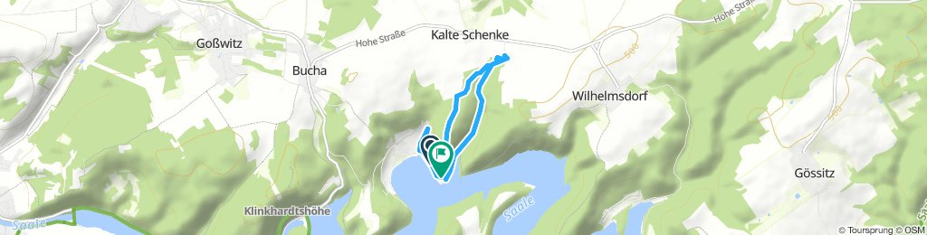 Relaxed Donnerstag Route In Hohenwarte