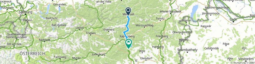 1. Mariazell - Frohnleiten