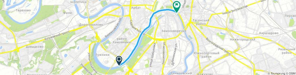 набережная Москва река