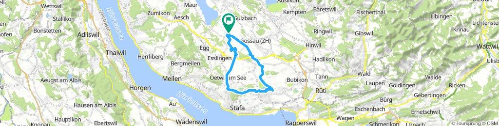 Steady Freitag Ride In Mönchaltorf
