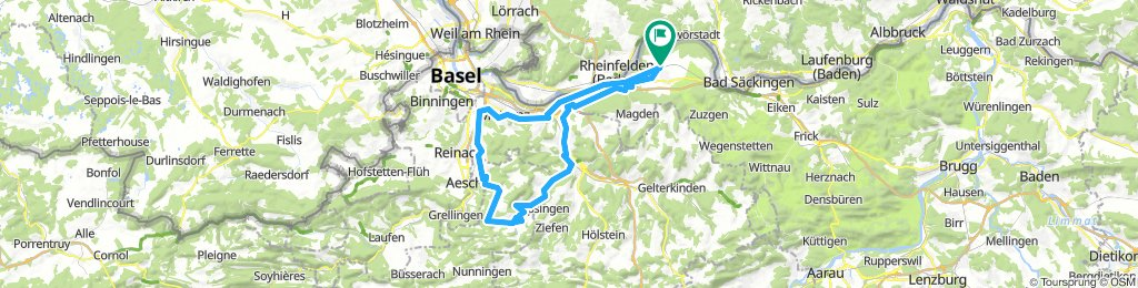 Möhlin - Seewen - Dornach Rundfahrt
