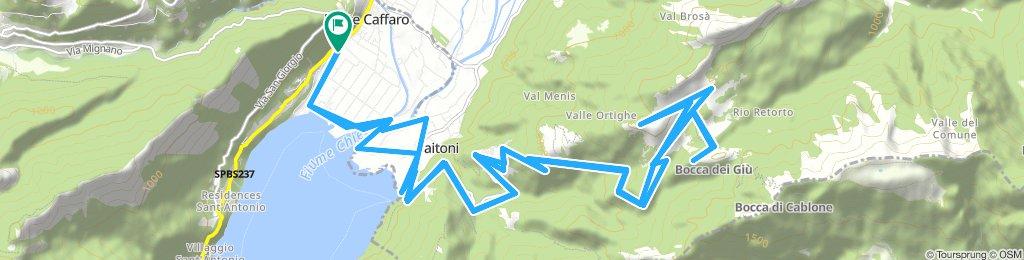 Ponte Caffaro - Baitoni - Bondone - Alpo di Storo (Brescia)