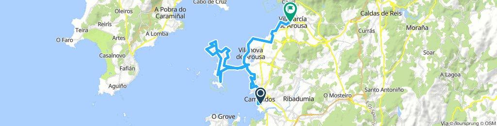 Encontriños 2018 et.3: Cambados - Vilagarcía de Arousa