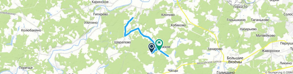Pokrovskoe 25 km