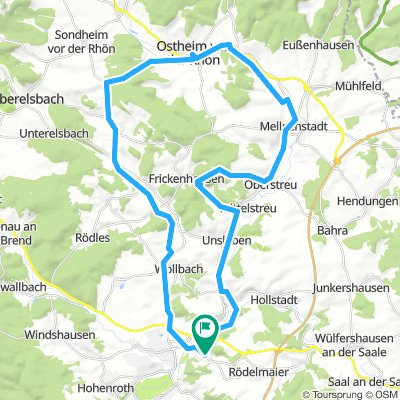 NES > Ostheim > Mellrichtstadt > Frickenhausen > NES