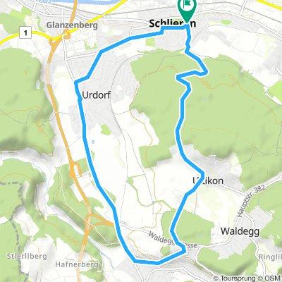Schlieren-Birmensdorf-Schlieren