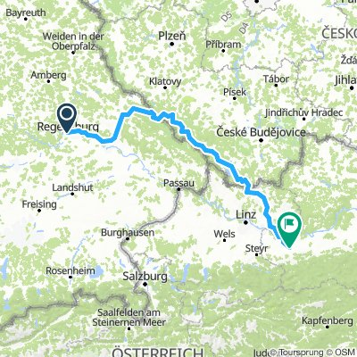 Regental-Horni Plana-Guglwald-BadLeonfelden-Ulmereld