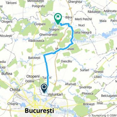 Bucuresti-Complex Astoria Snagov (asfalt)
