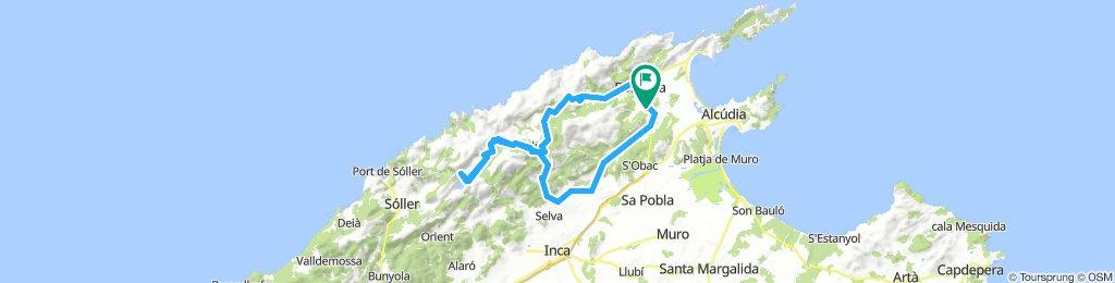 Can Llobera - Puig Major - zurück