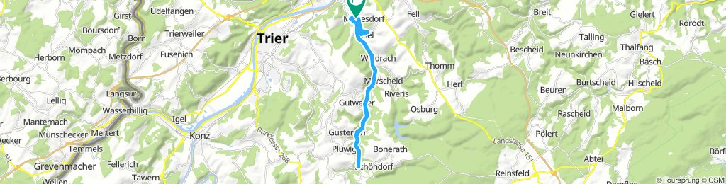 Extensive Samstag Route In Mertesdorf