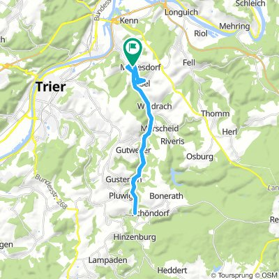 Extensive Samstag Route In Mertesdorf
