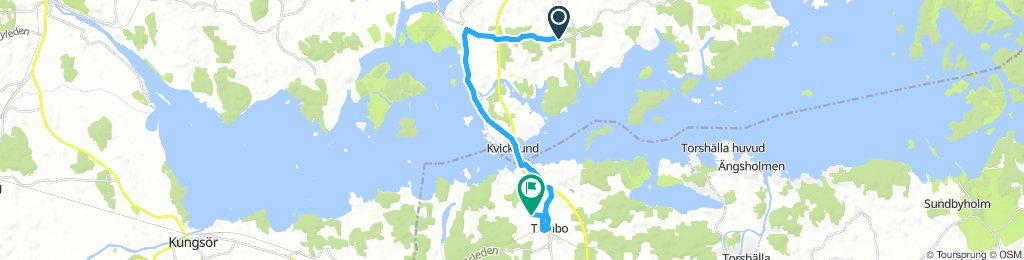Long Afternoon Ride In Västerås