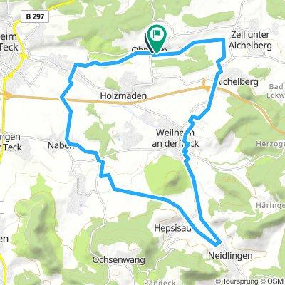 Jesingen-Nabern-Neidlingen-Weilheim