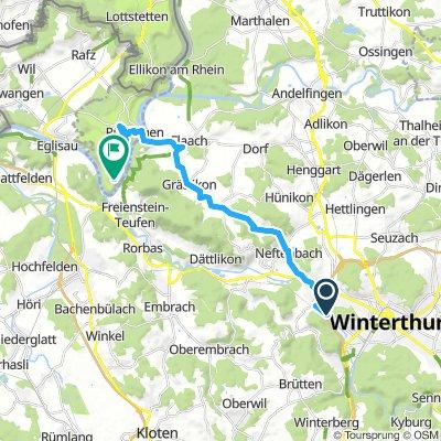 Slow Samstag Ride In Winterthur