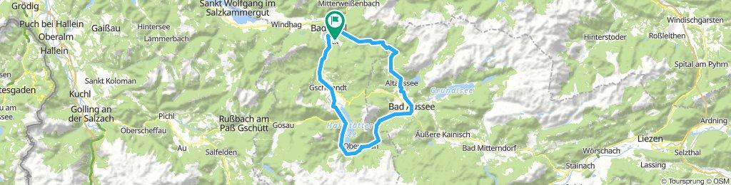 Bad_Ischl - Bla-Alm - Bad_Aussee - Hallstadt - Bad_Ischl
