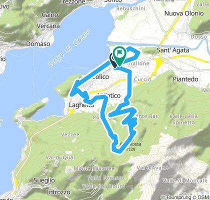 Colico - Alpe rossa - Colico