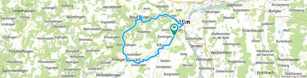 Alb-Donautal Radtour